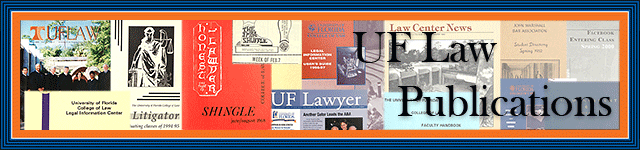 UF Law Publications