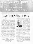 Law Center News - April 1970